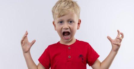 Mi hijo se enfada mucho